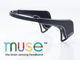 Interaxon MUSE agyhullám érzékelő meditációs/relaxációs fejpánt - Fekete