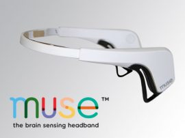 Interaxon MUSE agyhullám érzékelő relaxációs fejpánt - Fehér